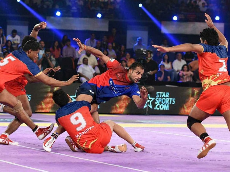 Delhi Edge Out Pune in Pro Kabaddi League