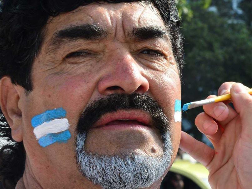 Diego Maradona lookalike