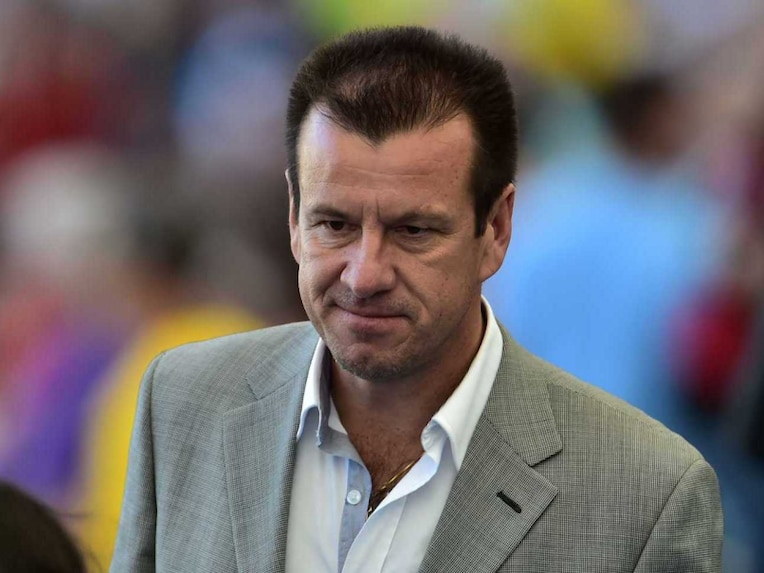 Former Brazilian captain Dunga attends the closing ceremony of the 2014 FIFA World Cup