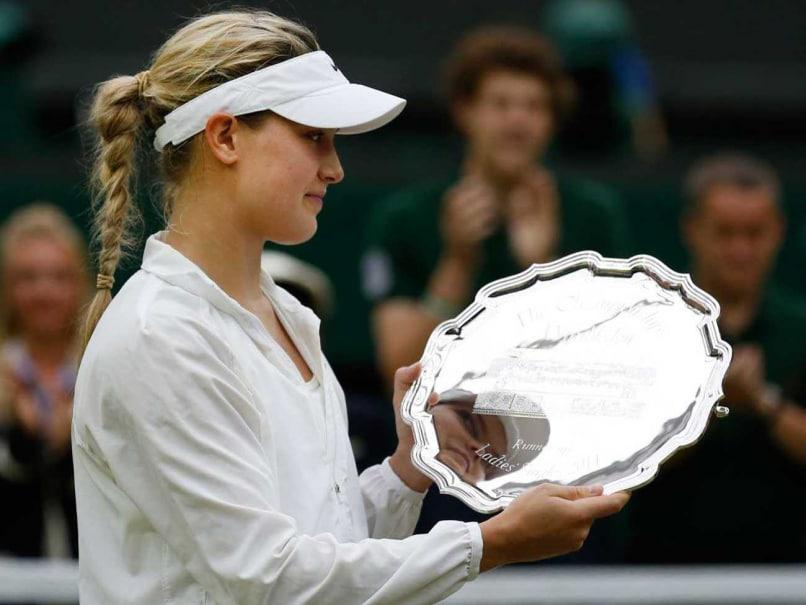 Eugenie Bouchard Wimbledon final