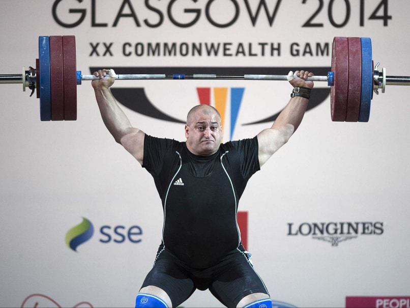 Weightlifting Gold for Canada's George Kobaladze