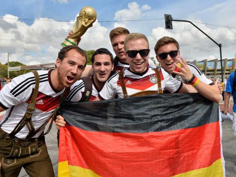 Germany fans Brazil FIFA