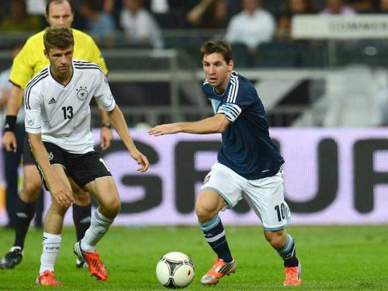 Germany Messi Friendly