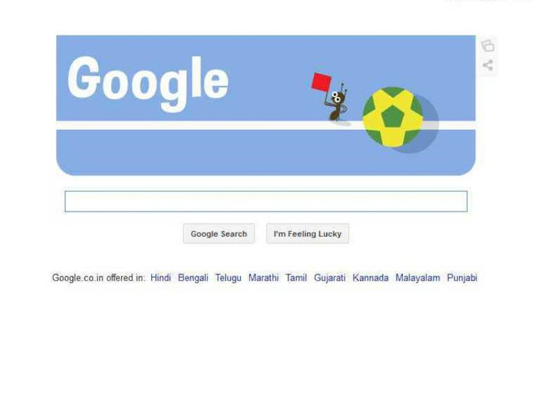 Google Doodle Goalline