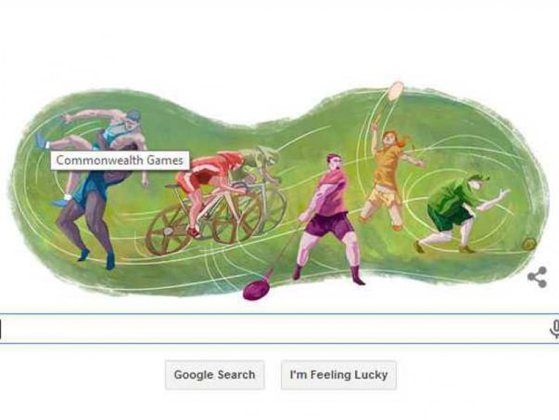 Commonwealth Games 2014: A New Google Doodle to Mark the Occasion