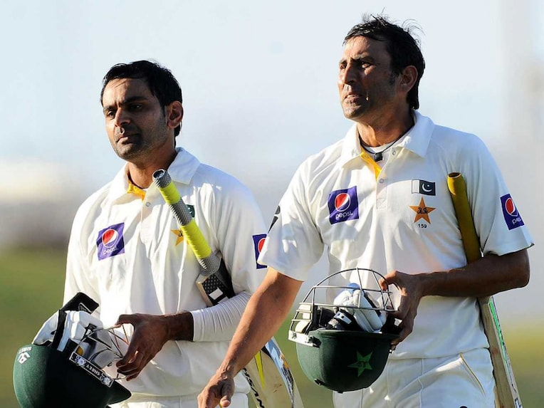 Mohammad Hafeez and Younis Khan