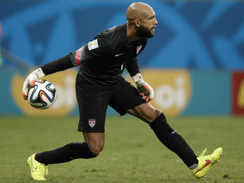 US goalkeeper Tim Howard