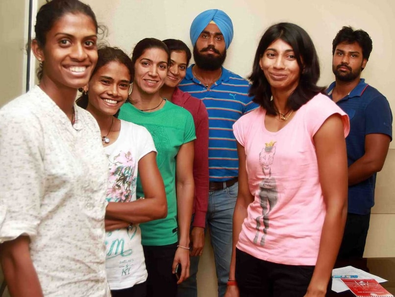 Indian athletics team cwg