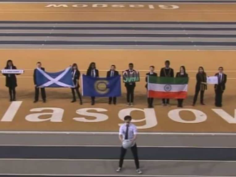 Indian Flag Upside Down in Commonwealth Games 2014 ...