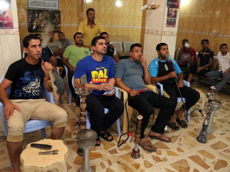 Iraq Soccer Fans
