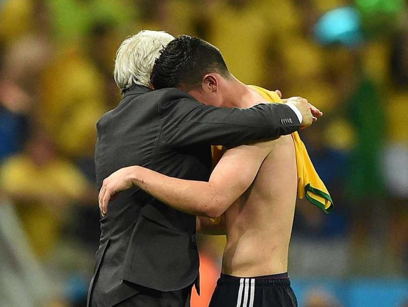 James Rodriguez tears