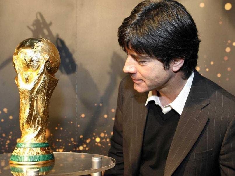 Joachim Loew World Cup trophy