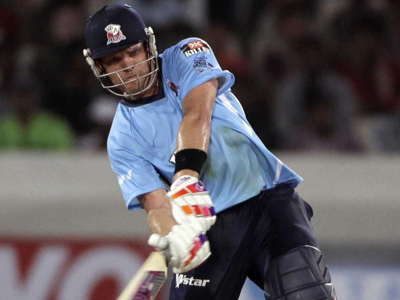 Lou Vincent NZ batsman