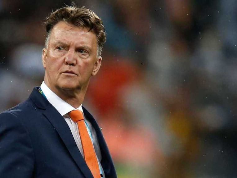 Louis Van Gaal Sad