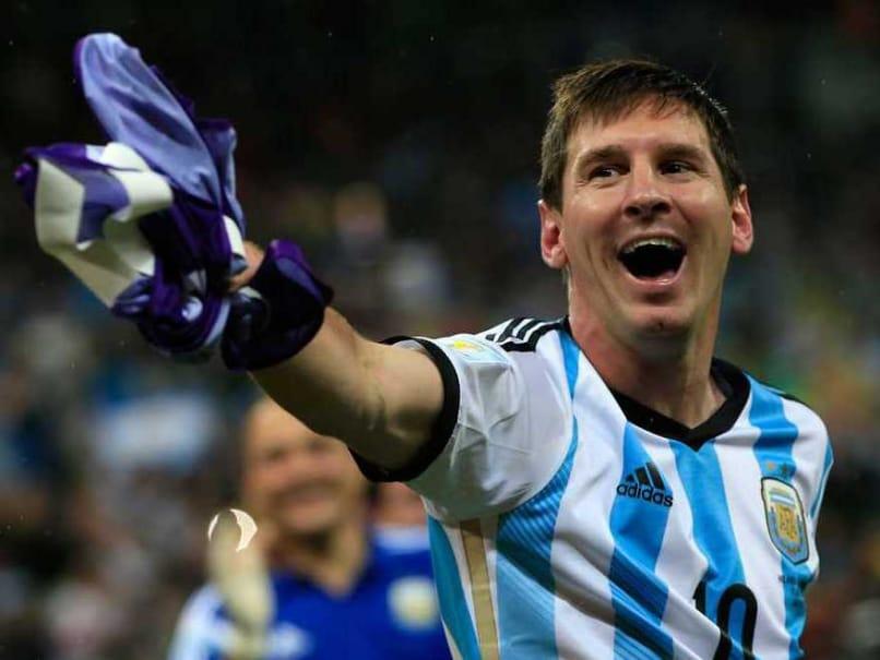 Messi Penalties Happy