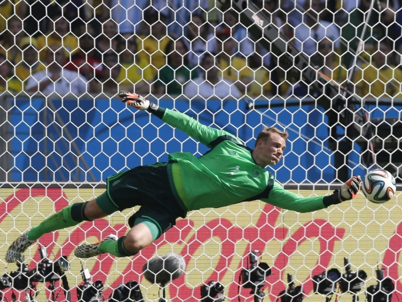 Neuer has made some sensational saves for Germany today.