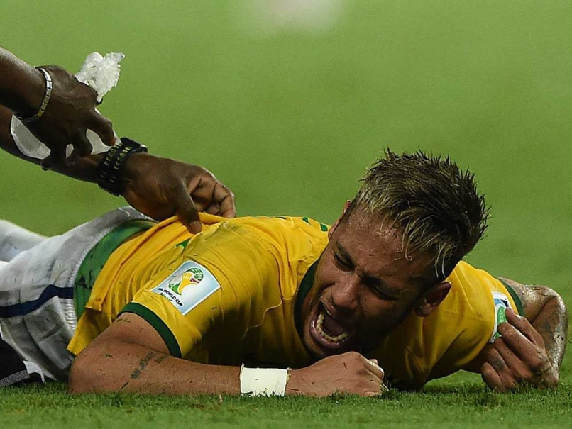 Neymar injury 2