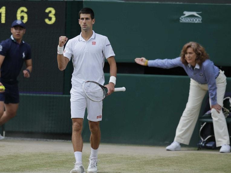 Novak breaks