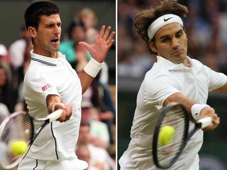 Novak Djokovic Roger Federer