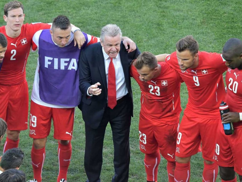 Ottmar Hitzfelds Switzerland bowed out of the FIFA World Cup in the pre-quarters