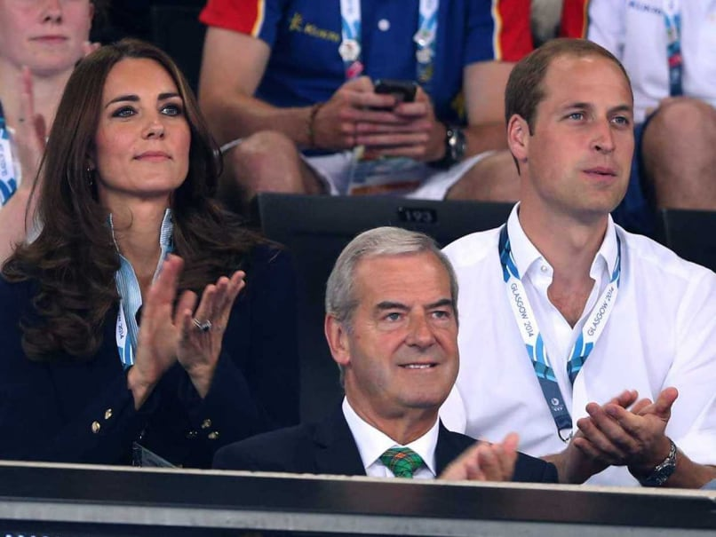 Prince William, Kate Add Royal Flair to Commonwealth Games