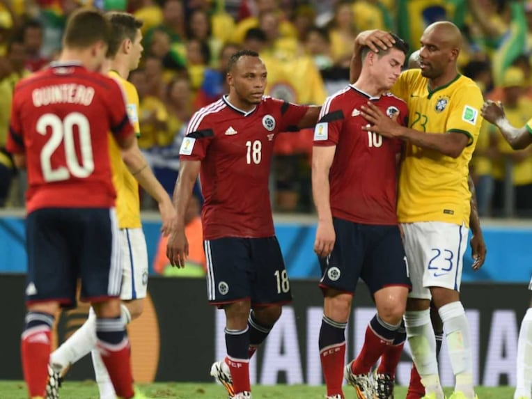 James Rodriguez and Maicon