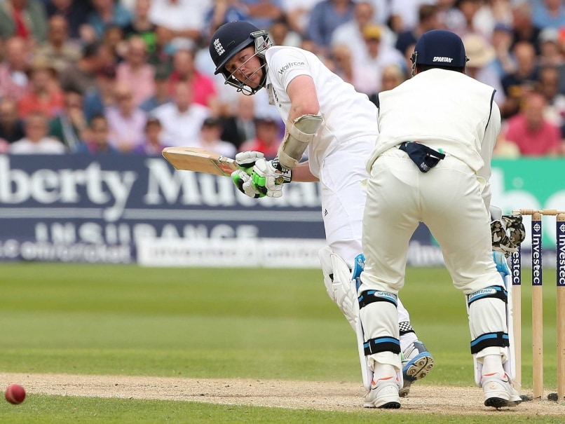 First Test, Day 3: Sam Robson, Gary Ballance Frustrate India