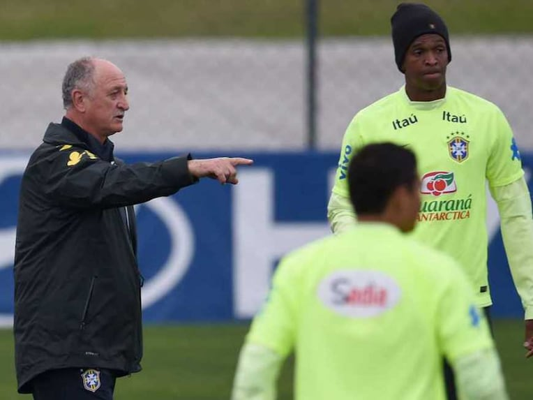 Scolari Brazil Training