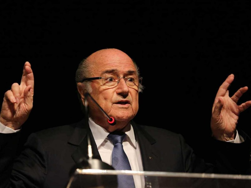 Sepp Blatter FIFA World Cup 2