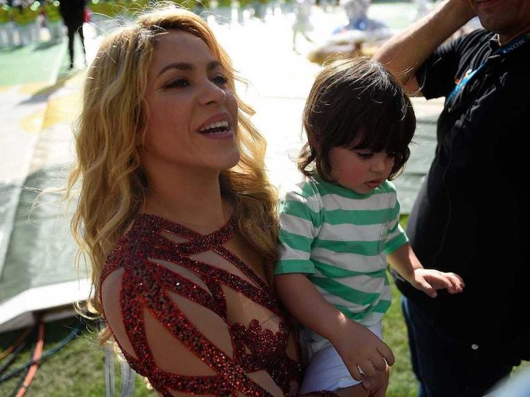 Shakira and son