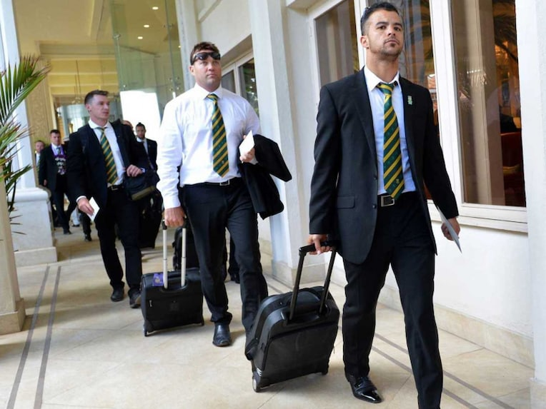 South Africa Team Arrival
