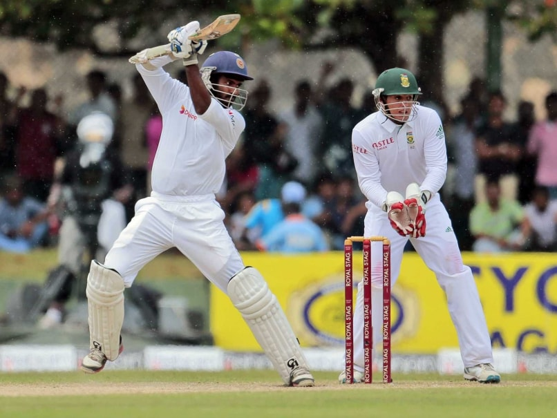 Sri Lanka Include Uncapped Niroshan Dickwella in Test Squad