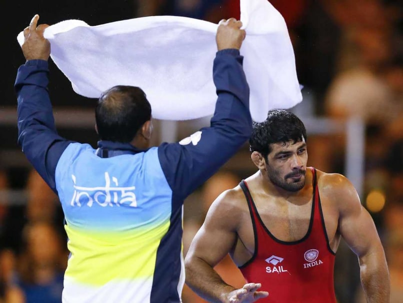 Commonwealth Games: Sushil Kumar Wins Gold in 74kg Freestyle Wrestling
