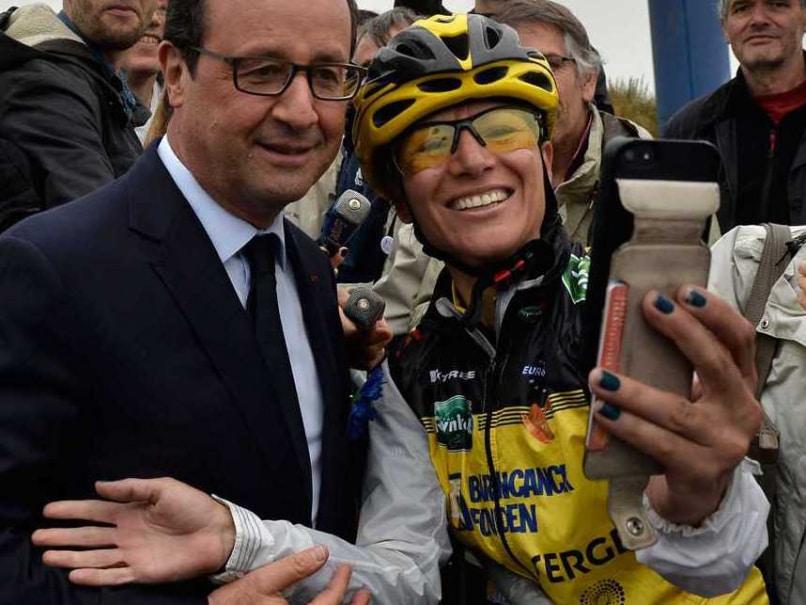 Tour de France Selfie