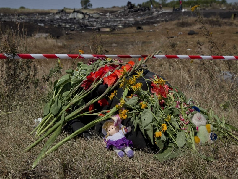 Ukrain crash site