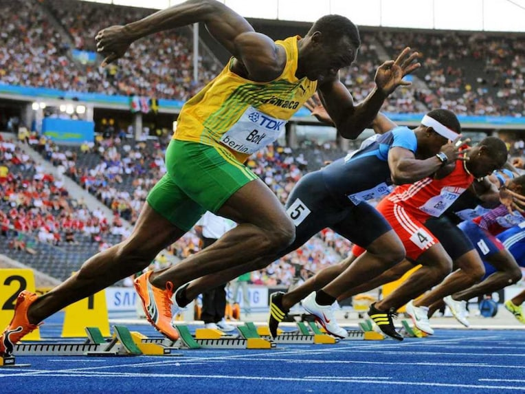 Usain Bolt competition