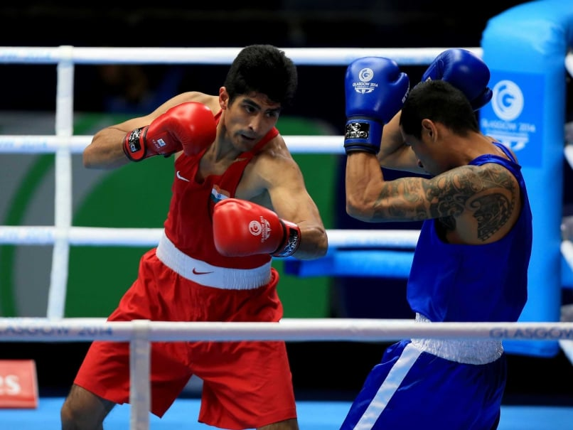 Commonwealth Games: Vijender, Devendro Enter Quarters, Shiva Ousted