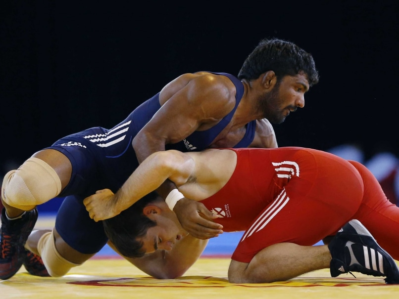 Commonwealth Games: Yogeshwar Wins 5th Wrestling Gold for India