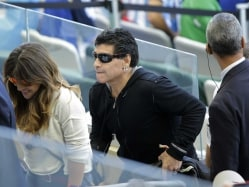 Diego Maradona's Son Says He Is Not Burdened By His Surname