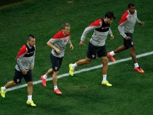 Croatia World Cup football cup