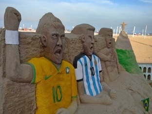 FIFA World Cup sand structers
