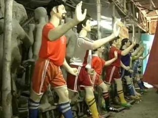 The FIFA World Cup fever catches up in football-crazy City of Kolkata
