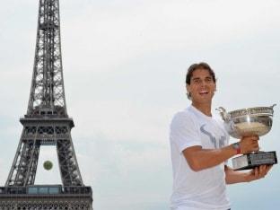 Rafael Nadal Eiffel 2