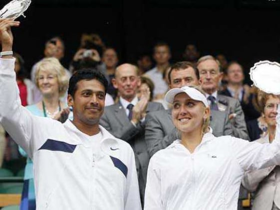 Bhupathi-Vesnina lose mixed doubles final