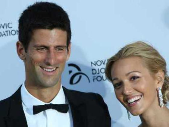 After loss to Andy Murray, Novak Djokovic serves an ace in charity dinner