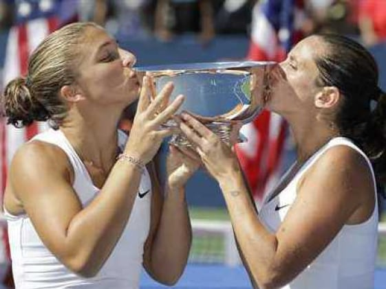 Errani, Vinci win women's doubles crown
