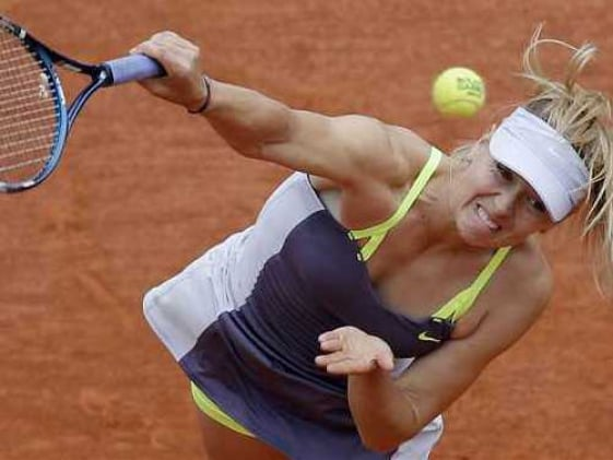 No regrets from Maria Sharapova after French Open defeat