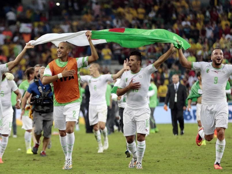 Algeria in last 16