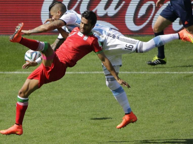 Argentina vs Iran WC 14
