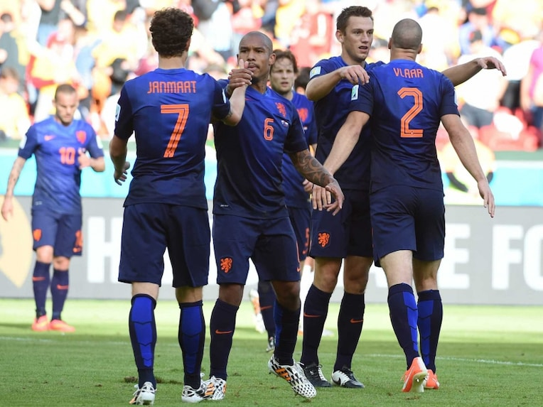 Netherlands face Costa Rica in the quarterfinal of the FIFA World Cup